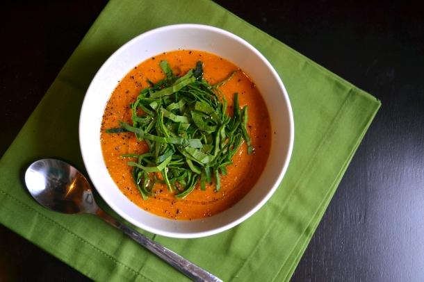 Red Lentil Coconut-Curry Soup