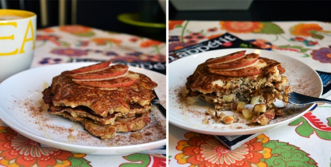 Apple n' Oatmeal Pancakes_double