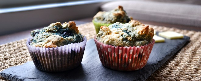 Blueberry-Flax Greek Yogurt Muffins_long